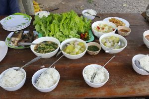 How to cook homemade Khmer  food