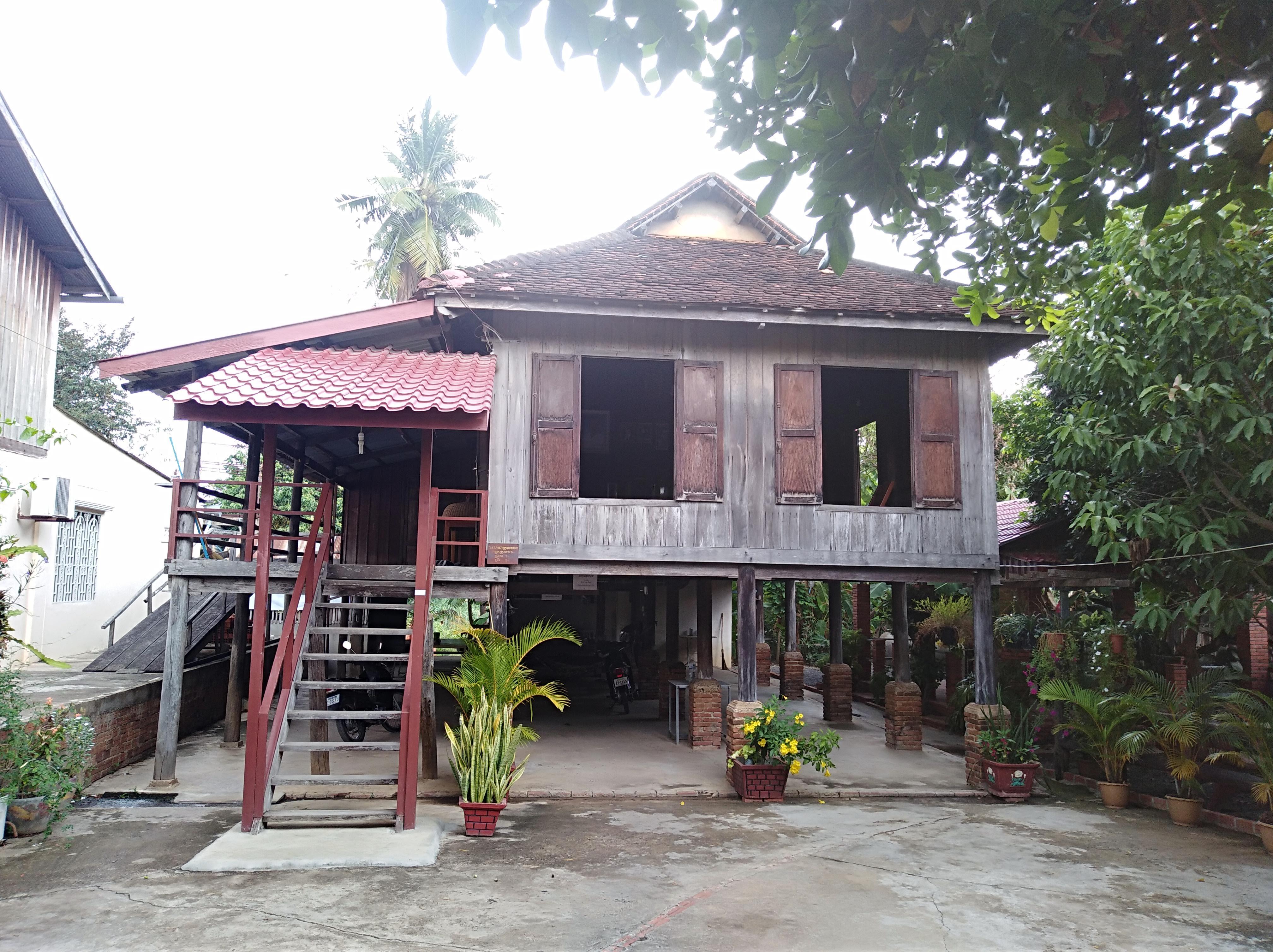 Ancient house in Battambang