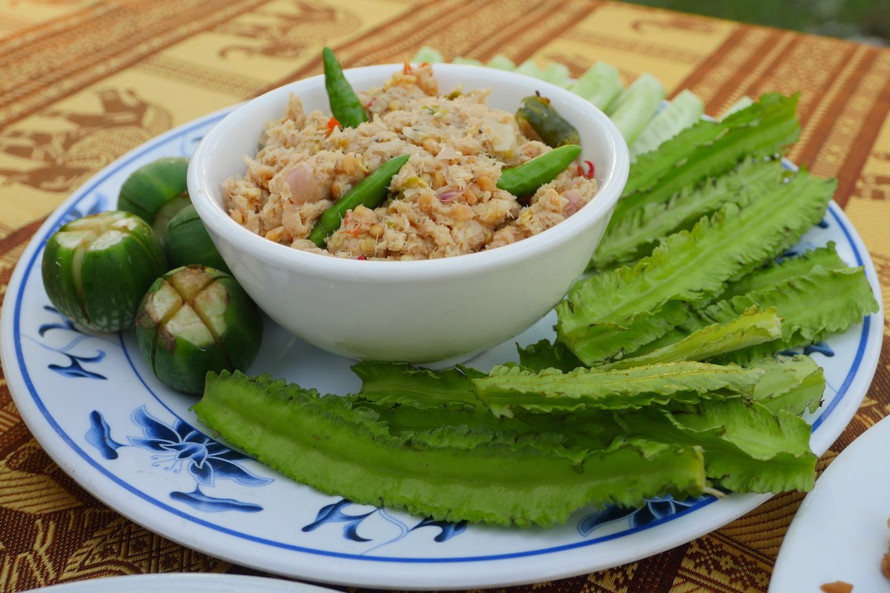 One of the famous Khmer dishes