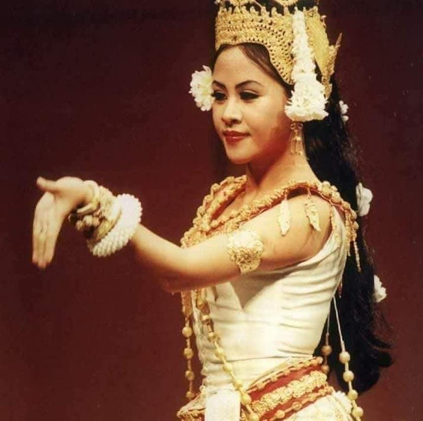 Srey Moch as a Apsara Dancer
