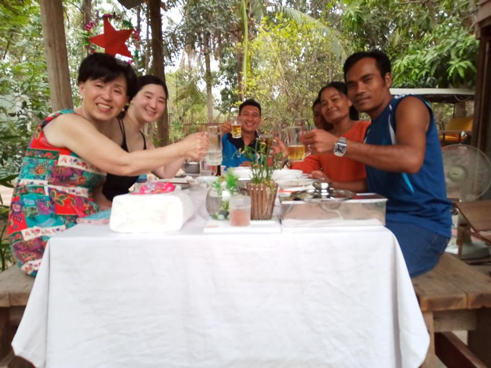 Guests from China