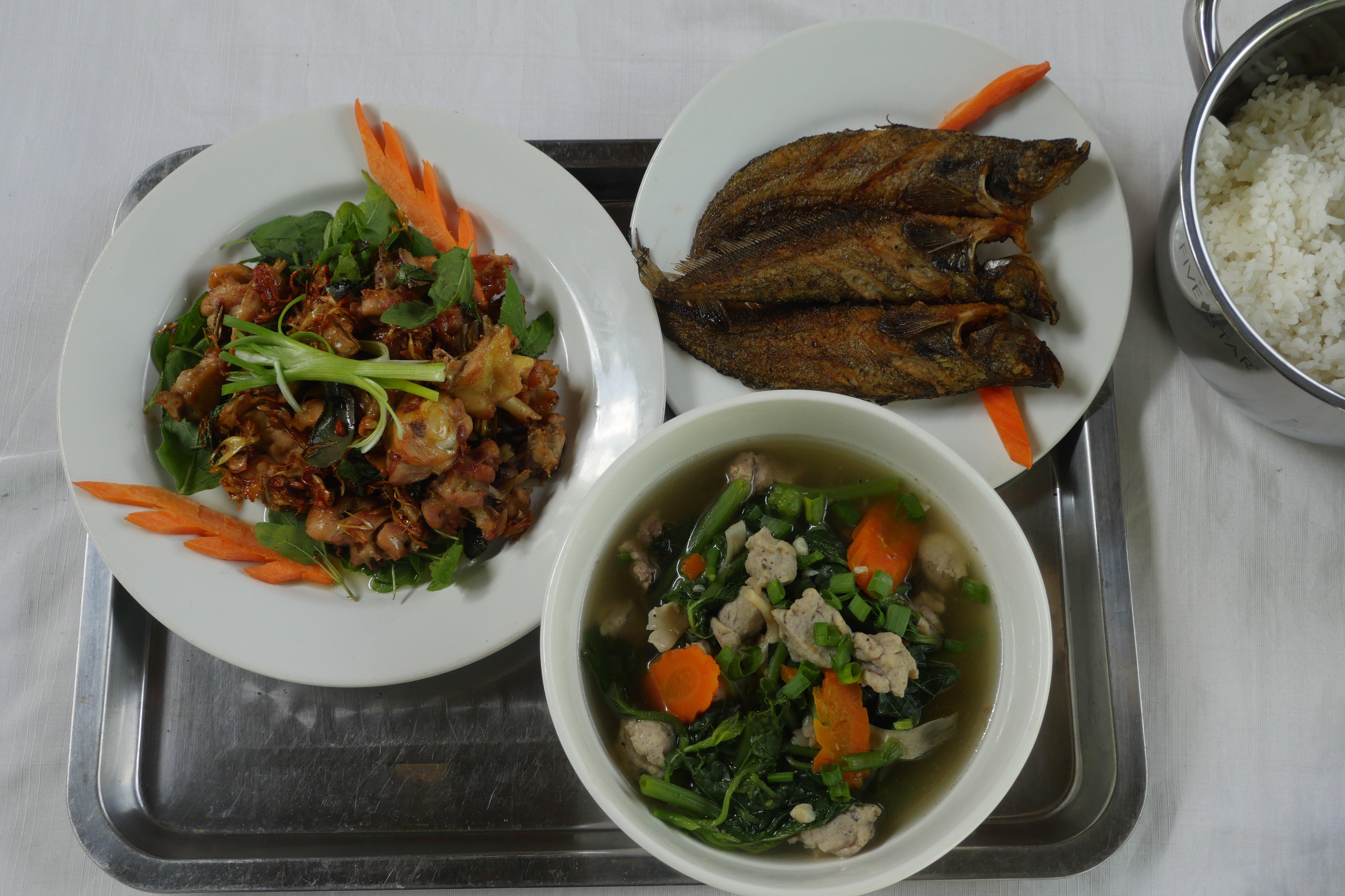 Enjoy Khmer food