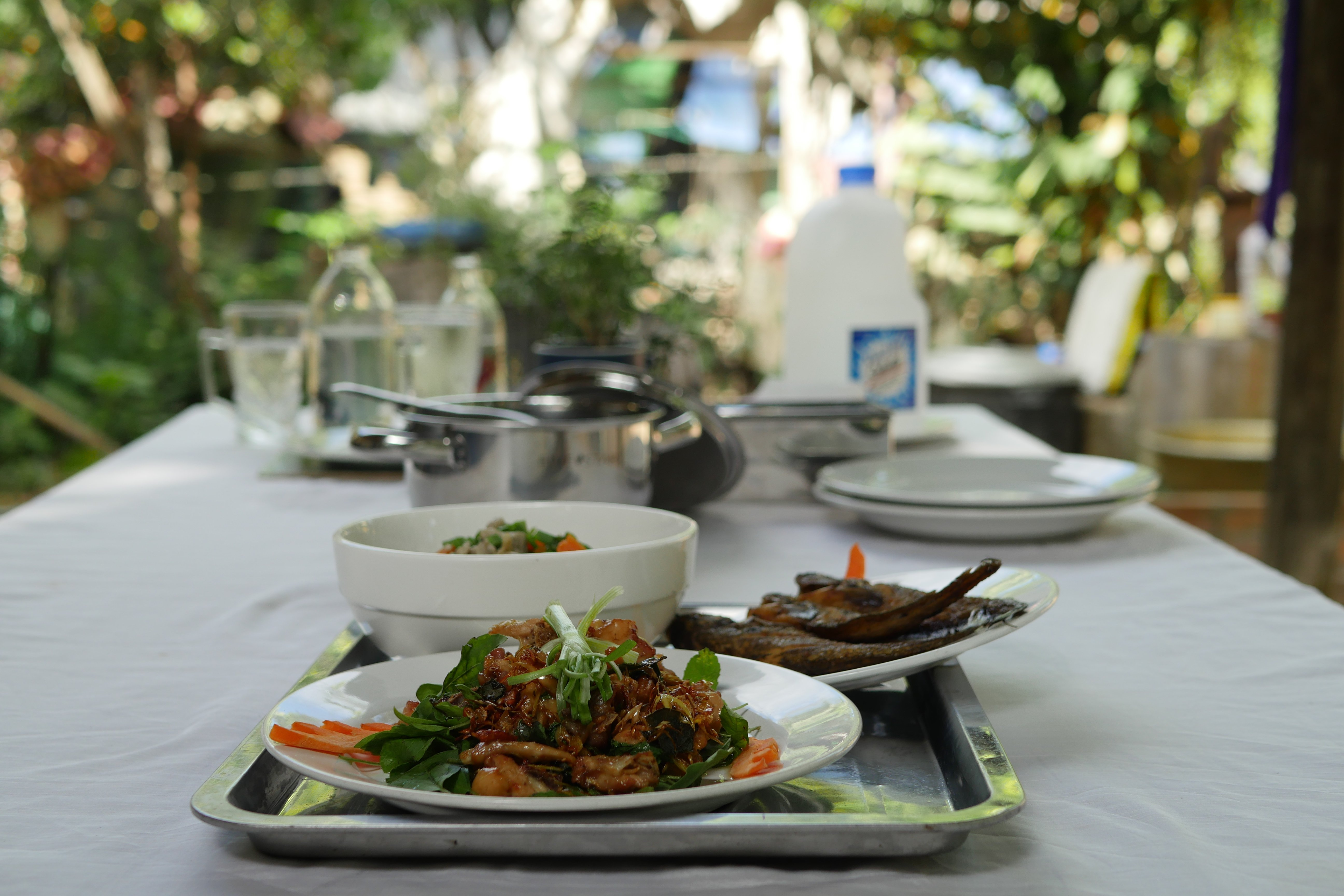 Three Khmer dishes are waiting for you