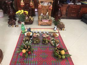 Offerings for the hungry ghosts