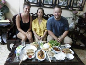 Cook and explore Hanoi with Thanh