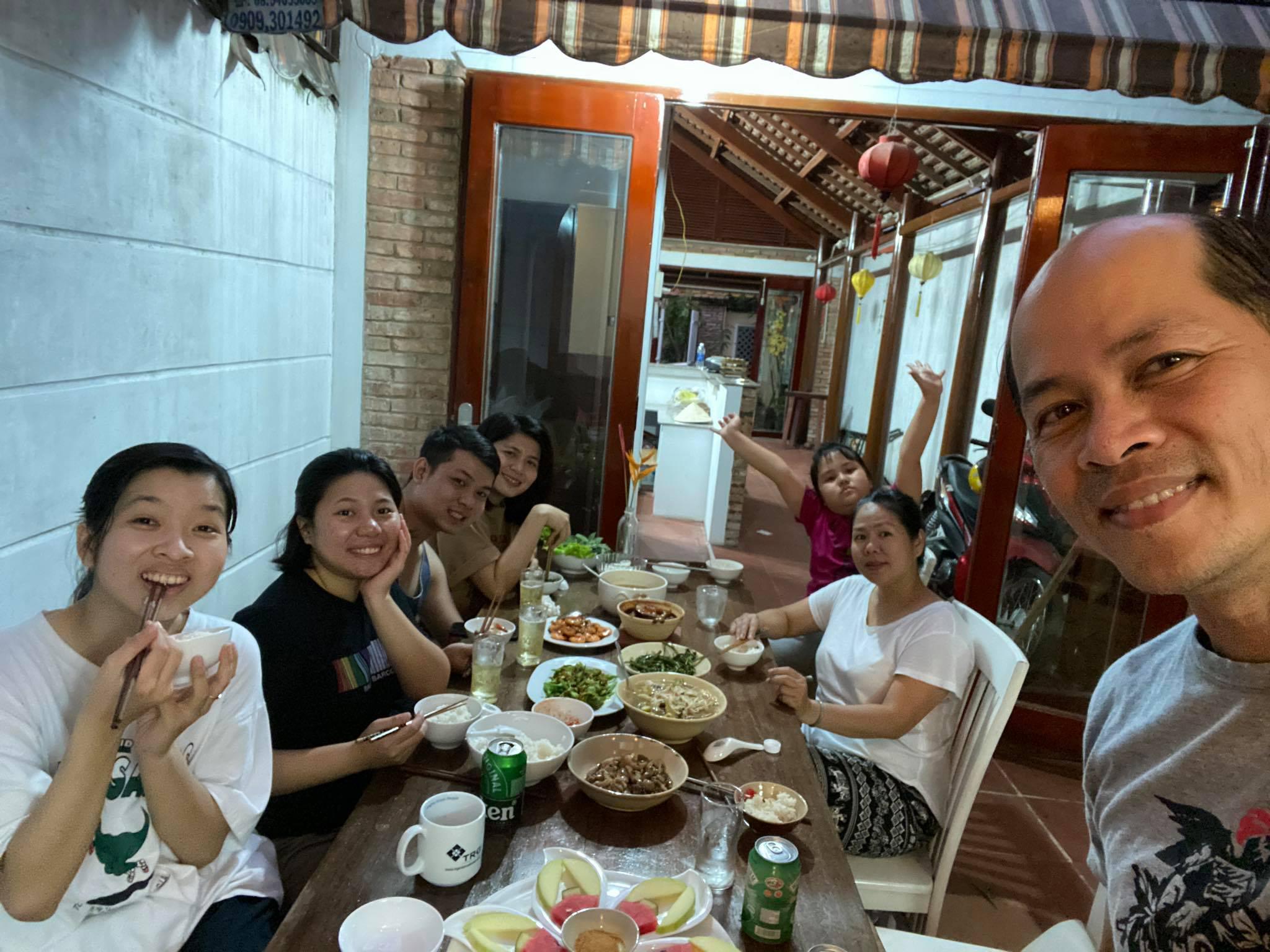Meet the family in Saigon