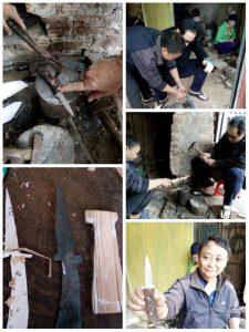Knifemaking in Hanoi