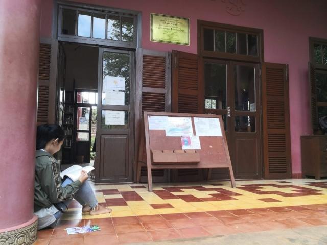 Wat Damnak Library