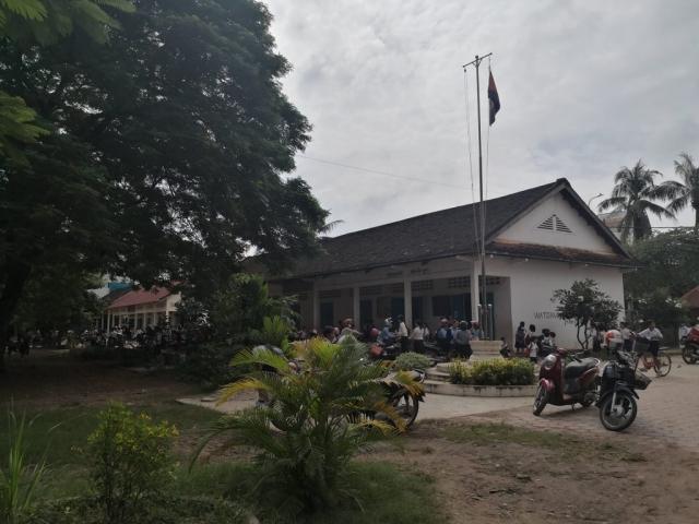 School in Wat Damnak in Siem Reap