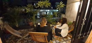 Guests enjoying the view in Phnom Penh