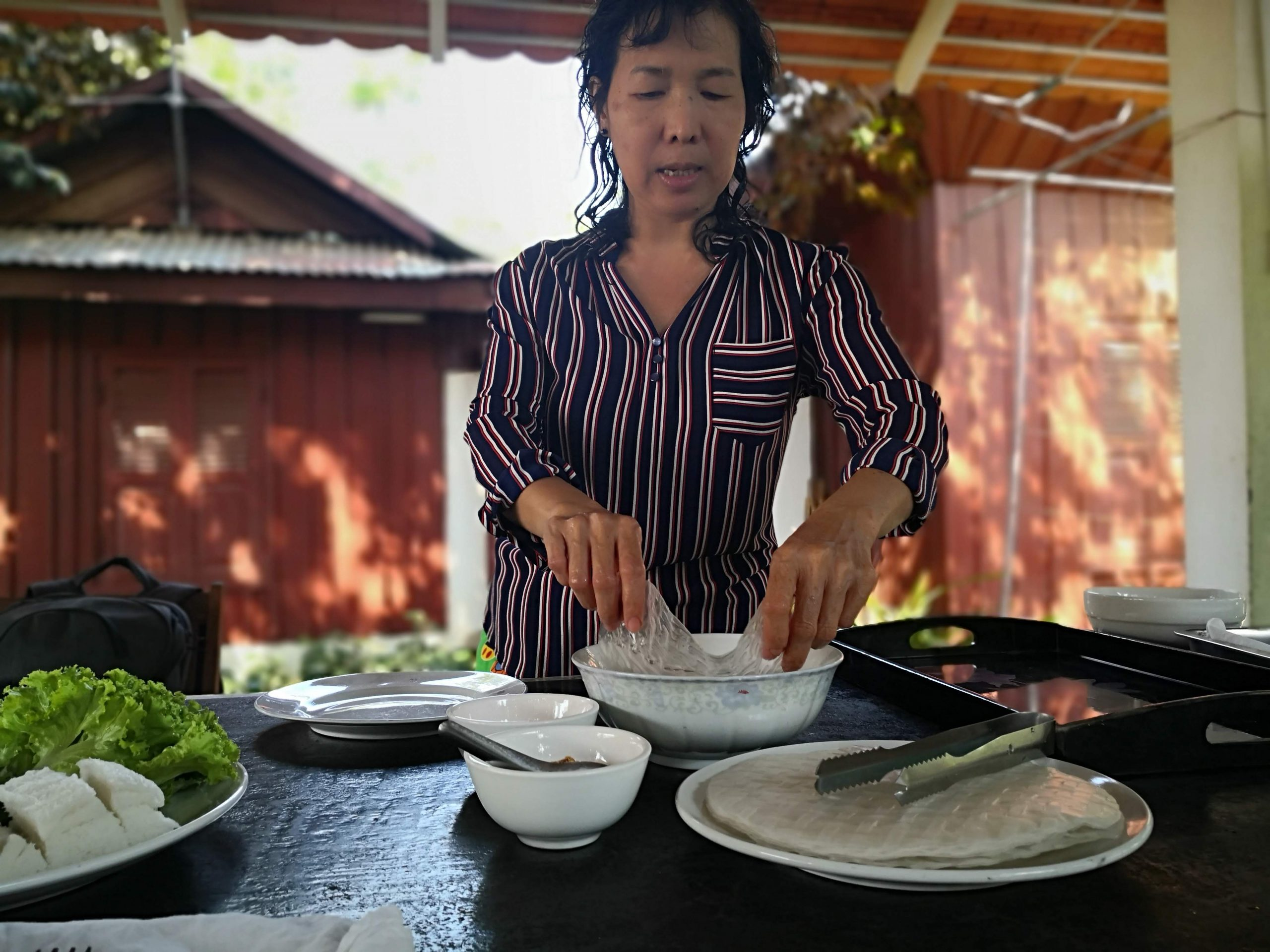 Mony teaches you cooking in Battambang