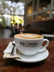The most successful Cambodian coffeeshop company is Brown