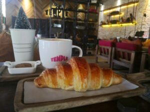 Temple Bakery is one of the most comfortable coffeeshops in Siem Reap