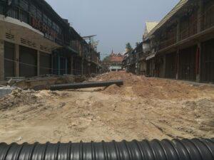 Siem Reap ist eine große Baustelle